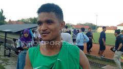 Indosport - Pemain muda Persipura yang dipanggil ke pemusatan latihan Timnas U-23, David Kevin Rumakiek.