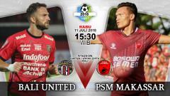 Indosport - Bali United vs PSM Makassar.