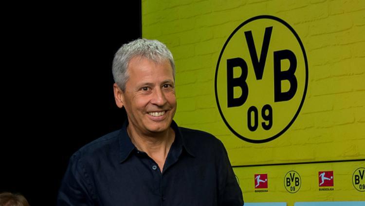 Lucien Favre, pelatih baru Borussia Dortmund. Copyright: INDOSPORT