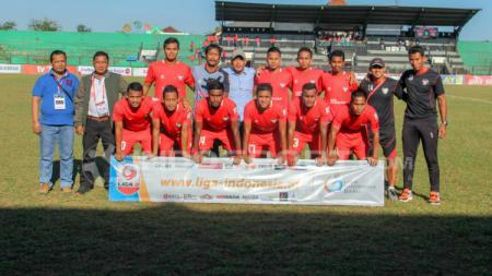 Skuat Madura FC tak terkalahkan di Liga 2. - INDOSPORT