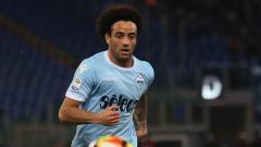 Indosport - Felipe Anderson, saat masih di Lazio.