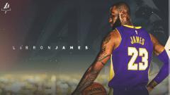 Indosport - LeBron James, salah satu bintang NBA yang musim ini resmi ke LA Lakers.