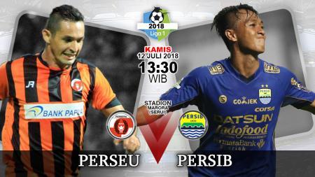 Perseru Serui vs Persib Bandung. - INDOSPORT