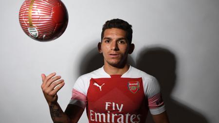 Pemain baru Arsenal asal Uruguay, Lucas Torreira. - INDOSPORT