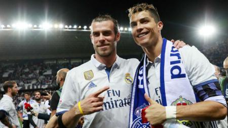 Gareth Bale (kiri) dan Cristiano Ronaldo - INDOSPORT