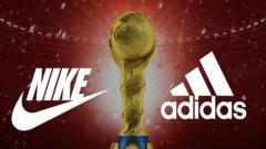 Indosport - Logo Nike vs Logo Adidas.