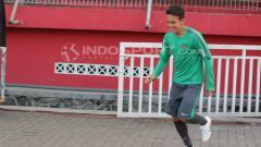 Indosport - Egy Maulana bergabung dalam latihan Timnas Indonesia U-19.