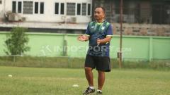 Indosport - Nimrot Manalu, pelatih fisik PSMS Medan.