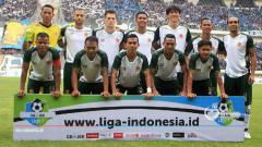 Indosport - Skuat PS TIRA di Liga 1 2018.