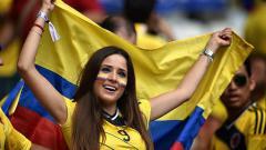 Indosport - Suporter Cantik di Piala Dunia 2018.