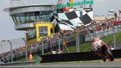 Indosport - Sirkuit Sachsenring yang jadi lokasi balapan MotoGP Jerman 2018.
