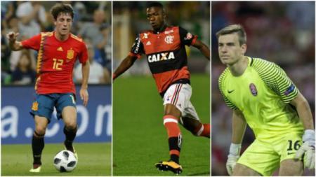 Alvaro Odriozola, Vinicius Junior, dan Andriy Lunin calon bintang muda Real Madrid - INDOSPORT