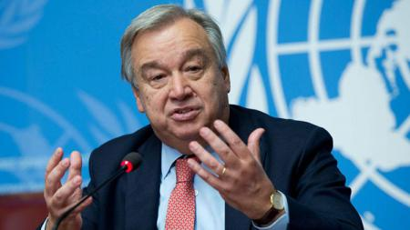 Sekjen PBB asal Portugal, Antonio Guterres. - INDOSPORT