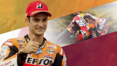 Dani Pedrosa resmi umumkan pensiun dari kancah balap MotoGP. - INDOSPORT