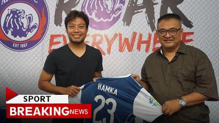 Hamka Hamzah resmi kembali ke Arema FC. - INDOSPORT