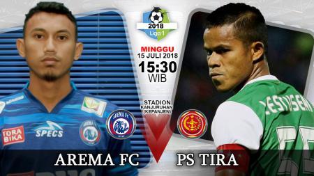 Arema FC vs PS TIRA. - INDOSPORT