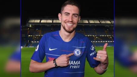 Jorginho, rekrutan pertama Chelsea di musim 2018/19. - INDOSPORT