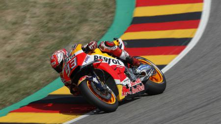 Marc Marquez, raih pole position MotoGP Jerman 2018. - INDOSPORT