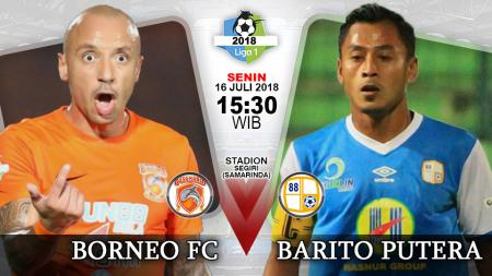 Borneo FC vs Barito Putera. - INDOSPORT