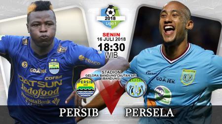 Persib Bandung vs Persela Lamongan. - INDOSPORT