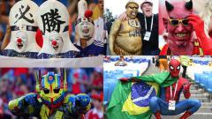Indosport - Fans Piala Dunia 2018