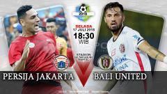 Indosport - Persija Jakarta vs Bali United (Prediksi)
