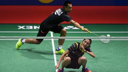 Kegagalan pasangan ganda campuran Hafiz Faizal/Gloria E. Widjaja meraih gelar Thailand Masters 2020 memicu amarah warganet. - INDOSPORT