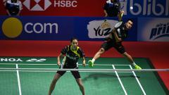 Indosport - Hafiz Faizal/Gloria Emanuelle menjuarai Thailand Open 2018.