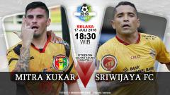 Indosport - Mitra Kukar vs Sriwijaya