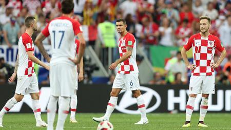Dejan Lovren saat tampil di laga final Piala Dunia 2018. - INDOSPORT