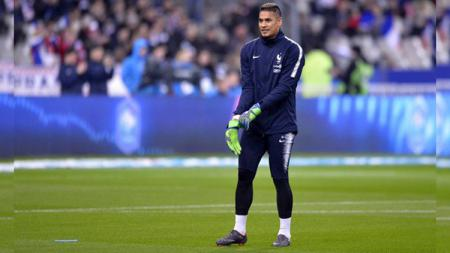 Kiper Tim Nasional Prancis Alphonse Areola di Piala Dunia 2018. - INDOSPORT