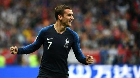 Antoine Griezmann bawa Prancis menang 2-0 atas Bolivia dalam laga uji coba (03/06/19) - INDOSPORT