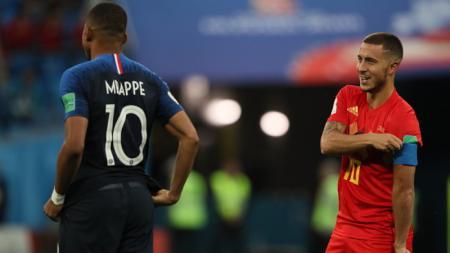 Akibat sikapnya yang tak disukai Florentino Perez, Eden Hazard akan ditumbalkan Real Madrid untuk datangkan Kylian Mbappe - INDOSPORT