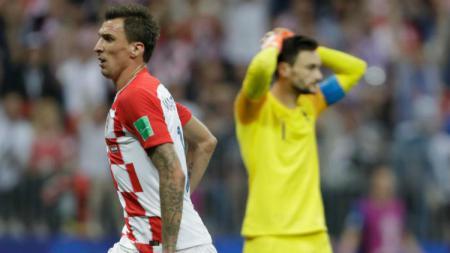 Hugo Lloris melakukan blunder di final Piala Dunia 2018. - INDOSPORT