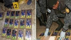 Indosport - Polisi menyita sejumlah kokain yang memasang wajah Neymar pada kemasannya.