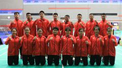Indosport - Tim Indonesia di Asia Junior Championships 2018.