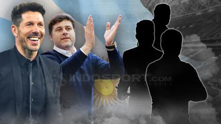 5 Calon pelatih Timnas Argentina. - INDOSPORT