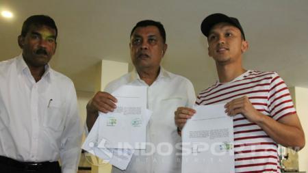 Rahmat Hidayat (Eks Sriwijaya FC) bergabung ke PSMS. - INDOSPORT