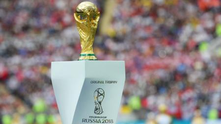 Trofi Piala Dunia. - INDOSPORT