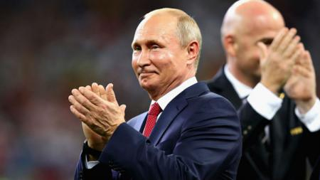 Presiden Rusia, Vladimir Putin. - INDOSPORT