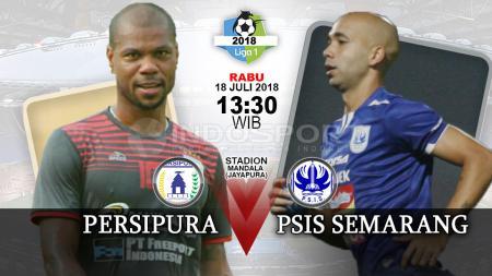 Persipura Jayapura vs PSIS Semarang. - INDOSPORT