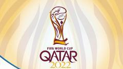 Indosport - Logo Piala Dunia 2022.