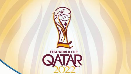 Logo Piala Dunia 2022. - INDOSPORT