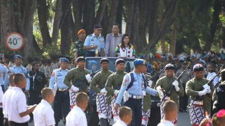 Api Obor Asian Games 2018 telah tiba Yogyakarta. - INDOSPORT