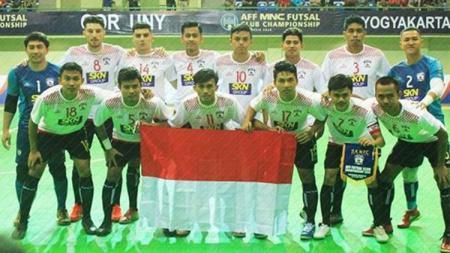 Klub futsal asal Jawa Tengah, SKN FC Kebumen, bakal dibela Filippo Inzaghi pada gelaran Pro Futsal League (PFL) 2020. - INDOSPORT