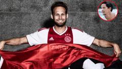Indosport - Kembalinya Daley Blind ke Ajax Amsterdam disambung oleh Irfan Bachdim.