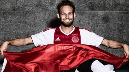 Daley Blind, resmi ke Ajax Amsterdam. - INDOSPORT