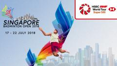 Indosport - Singapore Open 2018.