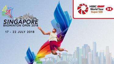 Singapore Open 2018. - INDOSPORT