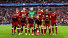 Indosport - Foto bersama Liverpool sebelum mengalahkan Hoffenheim
